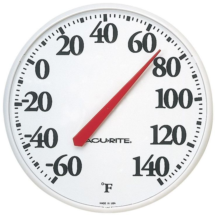 AcuRite Garden Decor Traditional Thermometer, Household Thermometers