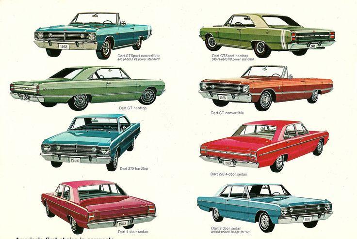 https://flic.kr/p/iybbFh   1968 Dodge Dart models