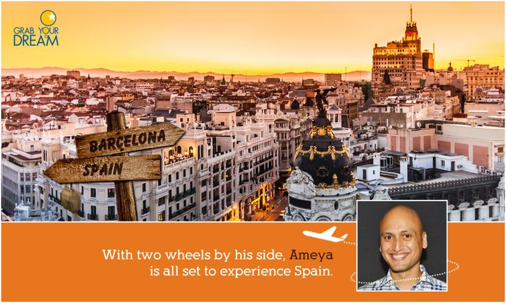 Ameya will bike his way through the land of wine, bull fights and Tapas. Take a look at what lies in store for him: http://cnk.com/gydspain