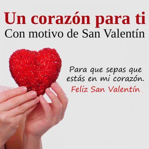 Imagenes De Corazones Para Regalar Con Mensajes De San Valentín