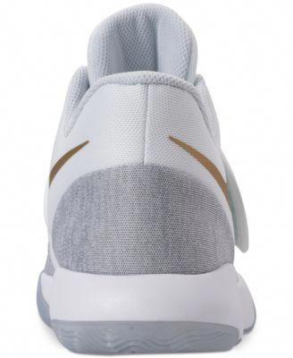 the best attitude b3e97 30e1d Nike Mens Kd Trey 5 Vi Basketball Sneakers from Finish Line - White 10.5  basketballsneakers