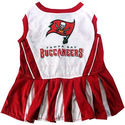 NFL Tampa Bay Buccaneers Cheerleader Dog Dress