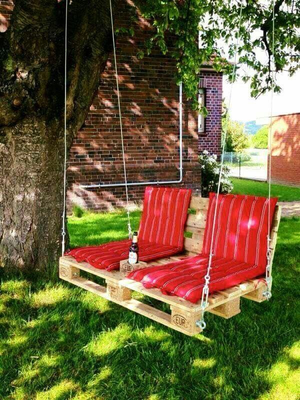 55 besten Schaukel Ideen für den Garten Bilder auf Pinterest - liegestuhl im garten 55 ideen fur gestaltung vom lounge bereich