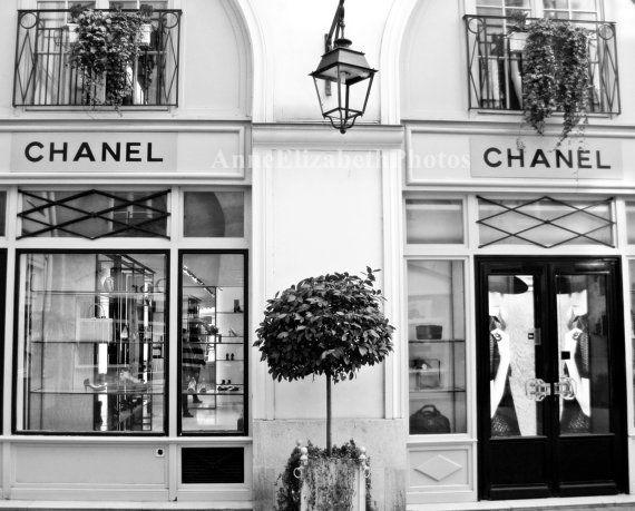 443a0c3ccc Vintage Chanel Shop Paris