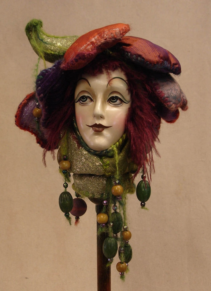 JESTER STICK Larkspur The Flower Fairy by SirCedricsGoodHeads