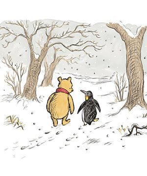 Winnie the Pooh Penguin Cartoon | Look for Penguin in 'The Best Bear in All the…