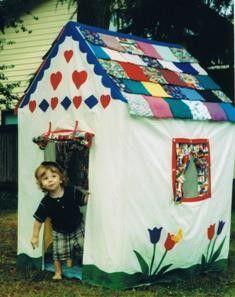 Grandmas House, the Original Toddler Playhouse Pattern. $12.95, via Etsy.