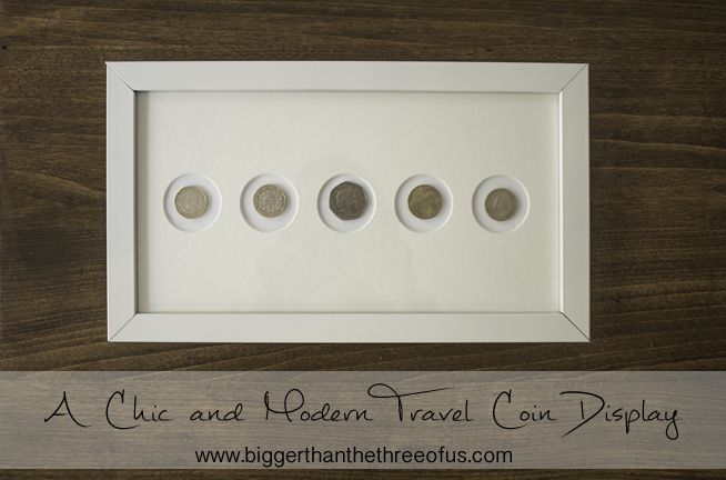 How to Display Travel Coins