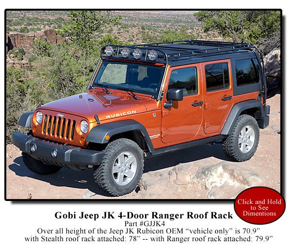 Gobi Stealth Roof Rack Tom Sheppard Says Not To Put Crap