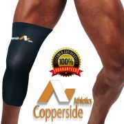Online shop for copper fit unisex copper infused compression knee and elbow sleeve for pain relief and pain recovery, available at the best price at Copperside Athletics. #CoppersideAthletics #athletictape #copperfit #coppermagneticbracelet #kneecompressionsleeves #armsleeves #sportstape #medicaltape #backbrace #Stimulationtherapyunit #bulkkinesiologytape