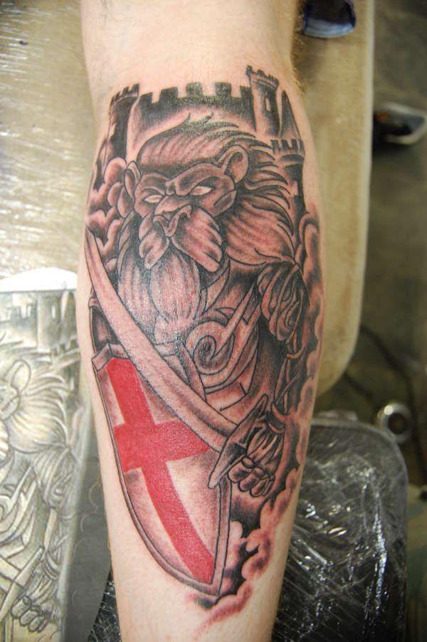 England Sleeve Tattoo Designs: England Tattoo, Tattoo Artists, Tribal