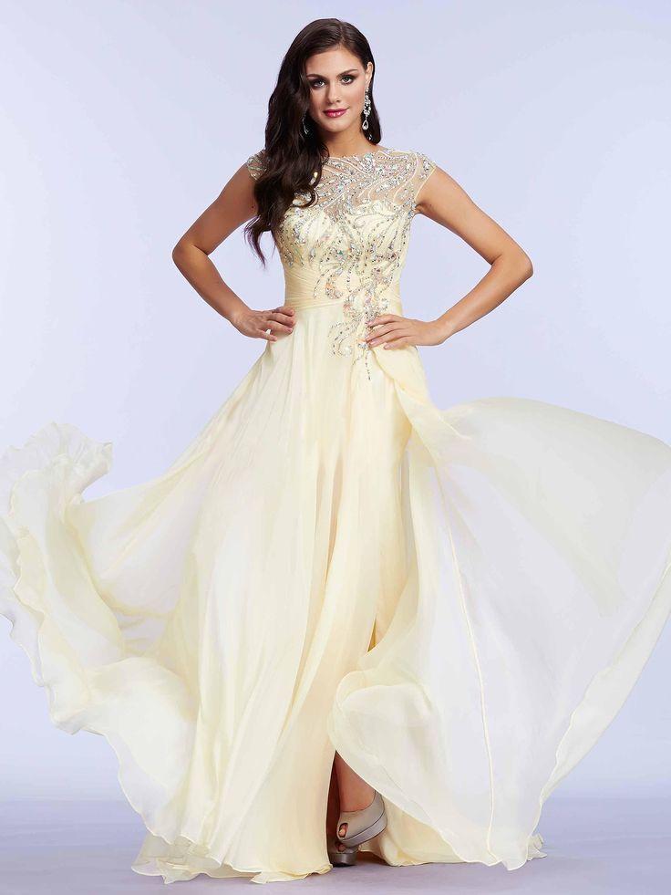 #lightdress #yellowdress / Lekka suknia w modnym odcieniu cytrynowej żółci