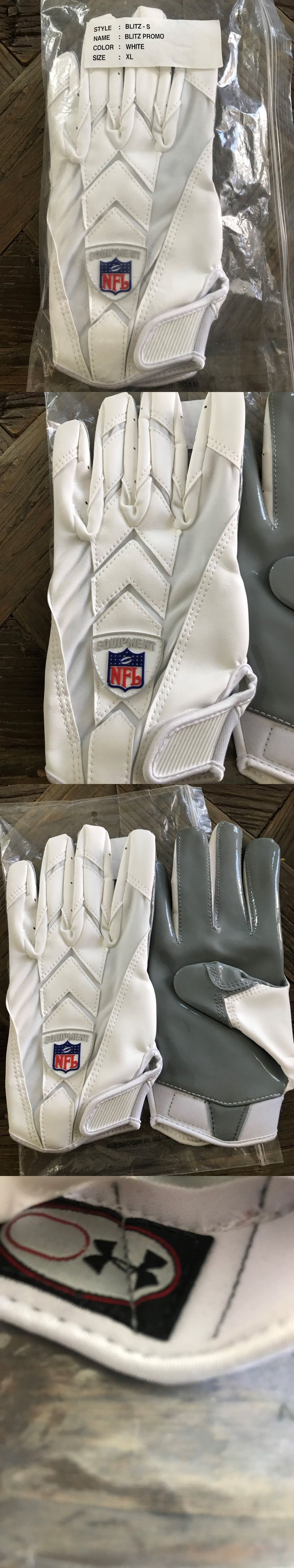 Gloves 159114: Under Armour Nfl Blitz Gloves Men - White - Xl -> BUY IT NOW ONLY: $55 on eBay!