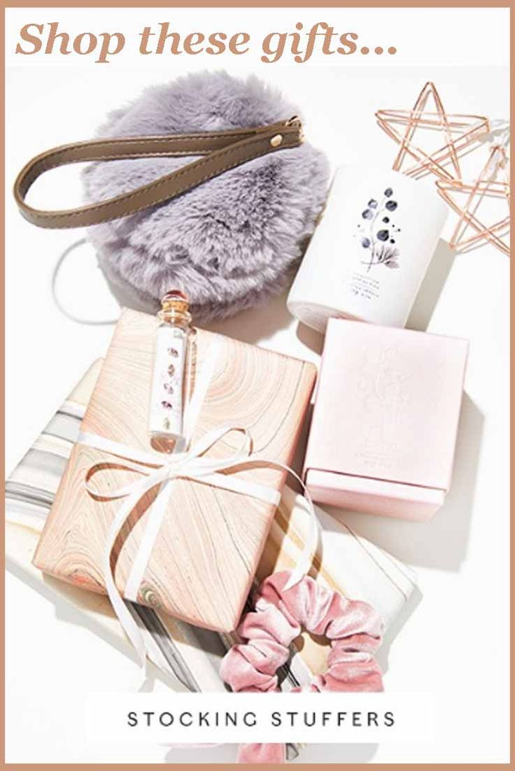 Shop these gifts - stocking stuffers for the fashionista in your life