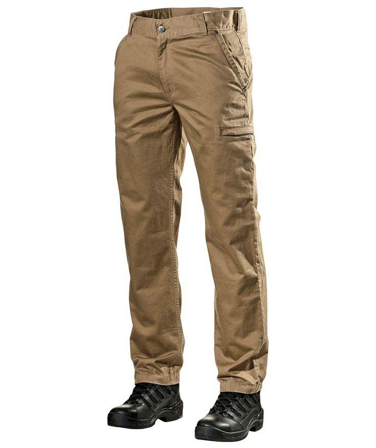 L.Brador Chino bukser / servicebukser 1001B, khaki