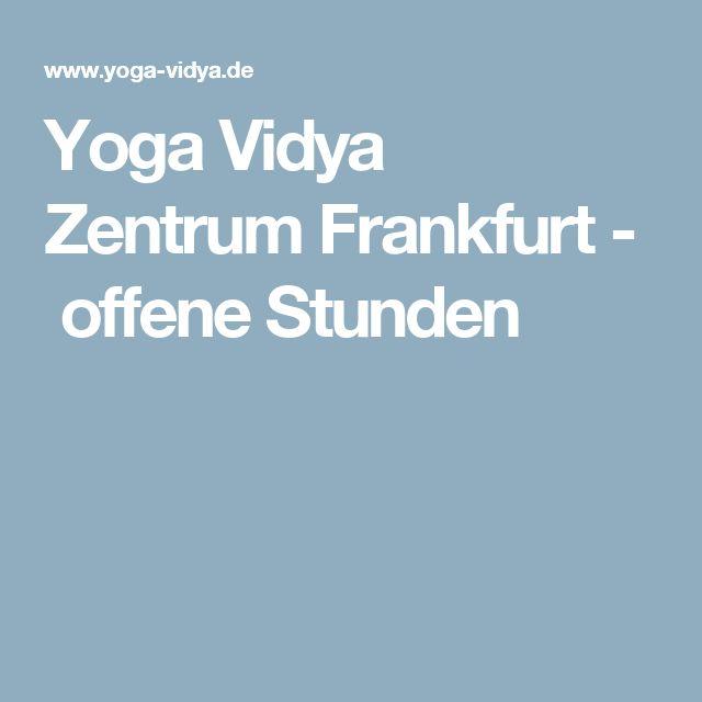 Yoga Vidya Zentrum Frankfurt - offene Stunden