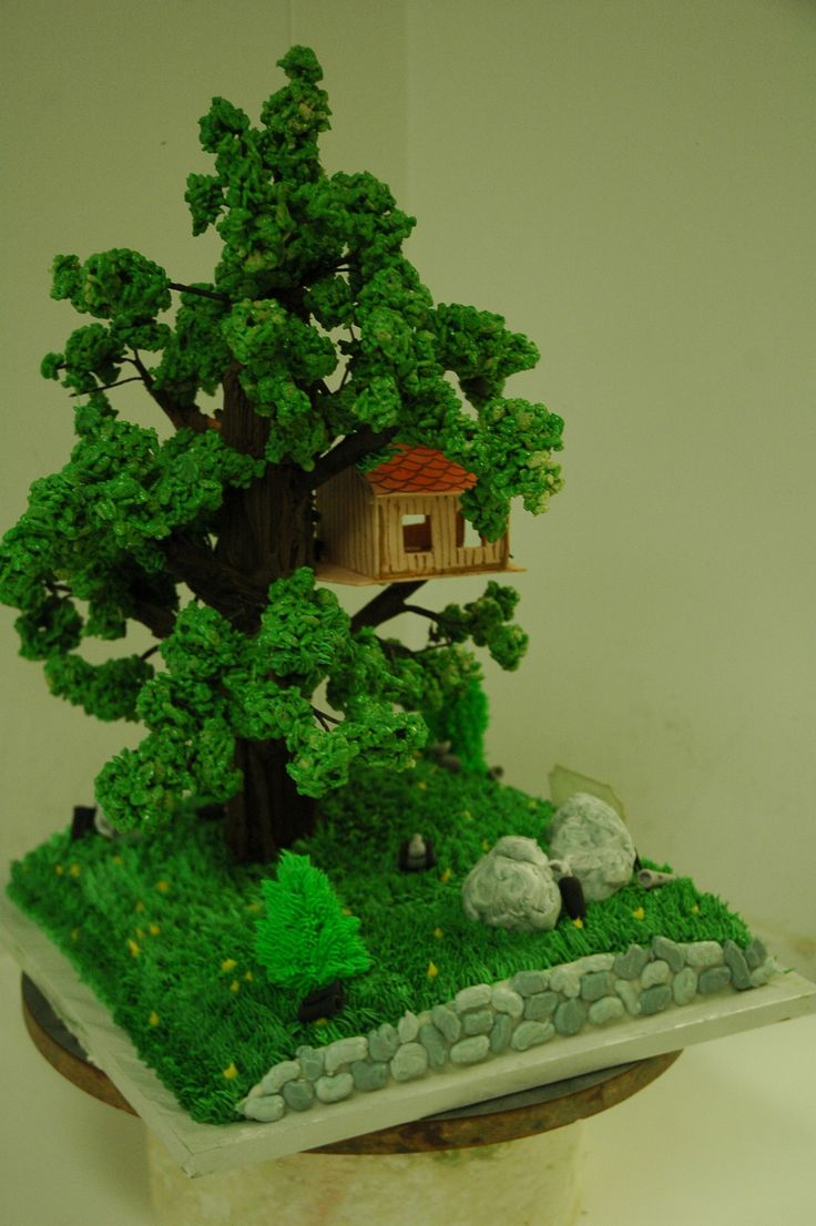 1000 Images About Treehouse Cakes On Pinterest Tree Cakes