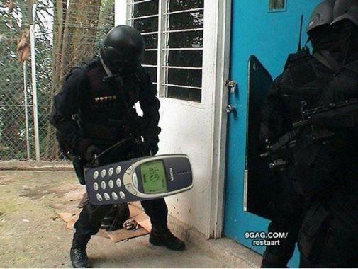 Love trolling this #Nokia 3310 phone. Brick & rock foreva
