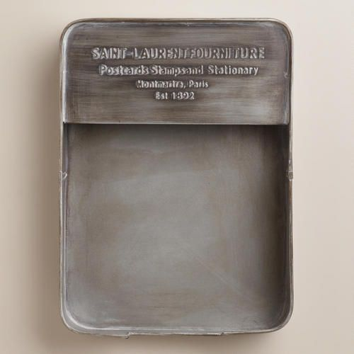 One of my favorite discoveries at WorldMarket.com: St. Laurent Paper Tray