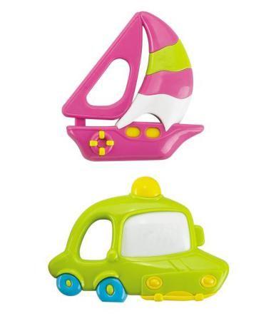 Жирафики Кораблик и машина  — 95р. ----------------------------- Набор погремушек Кораблик и машина от бренда Жирафики. Эти милые погремушки приведут вашего малыша в восторг: они яркие, издают приятный звук и их так удобно удерживать в маленьких ручках. Игры с погремушками развивают слух ребенка, тактильные ощущения и ...