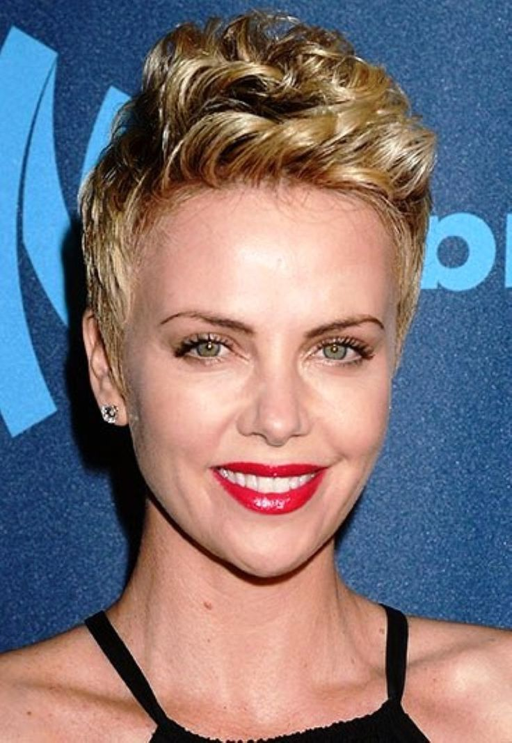 cool Charlize Theron Short Hair | Hair Styles & More | Pinterest