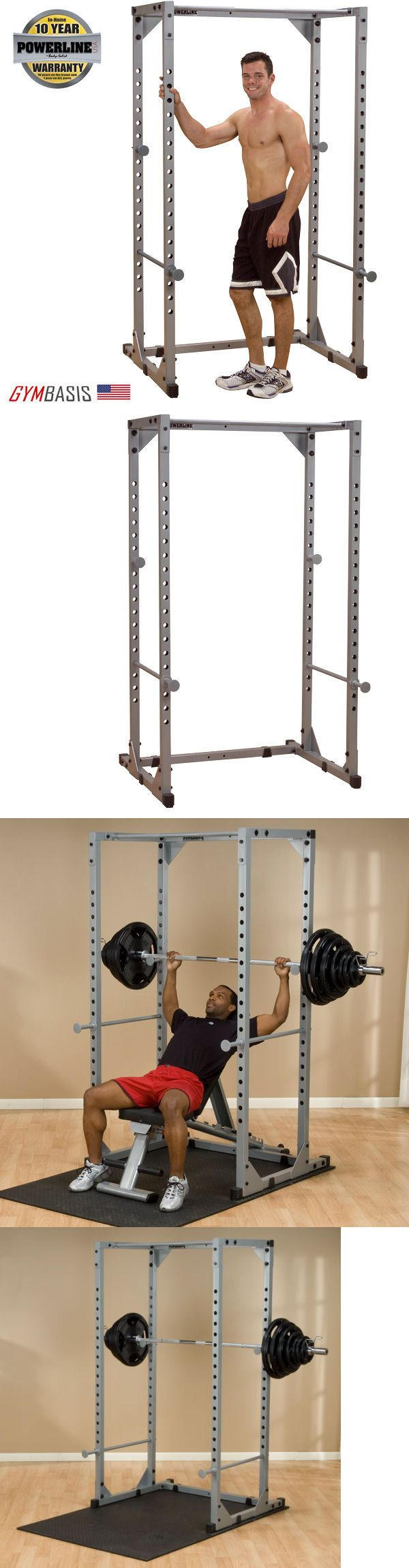 Power Racks and Smith Machines 179815: New Powerline (Feat. Body-Solid) Ppr200x Power Rack BUY IT NOW ONLY: $372.0