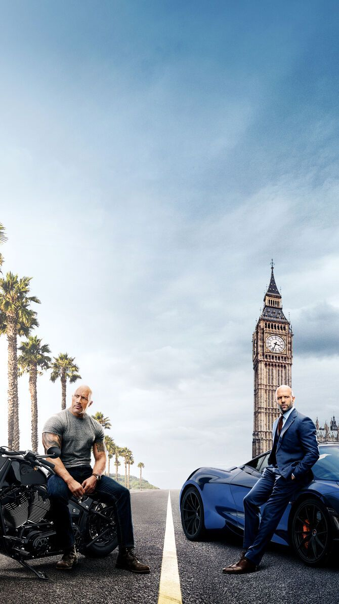 Hobbs Shaw 2019 Phone Wallpaper Fast Furious Jason Statham