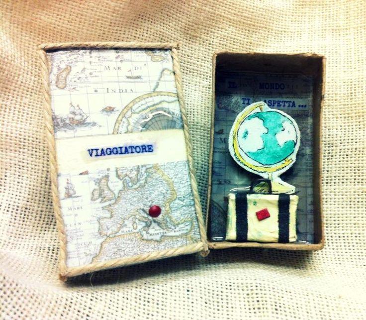 """""""Viaggiatore il mondo ti aspetta""""..dedicato a chi ama viaggiare.../""""Traveler the world waits for you""""...perfect for travelers..."""