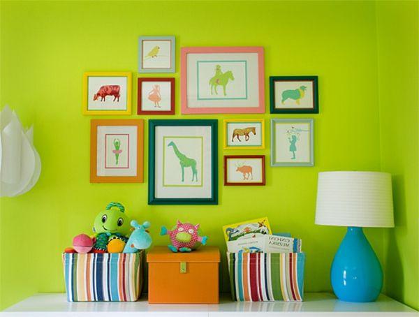 farbideen wohnzimmer neongrn bilder