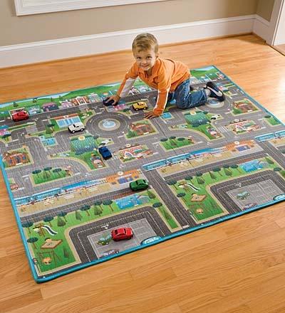 Reversible Roadway Play Mat ($34.98).