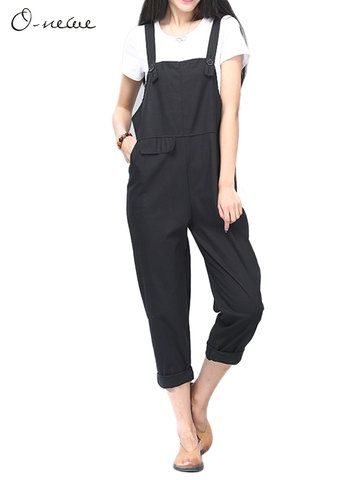 Hot-sale O-Newe Casual Strap Pockets Rompers Jumpsuit For Women - NewChic Mobile