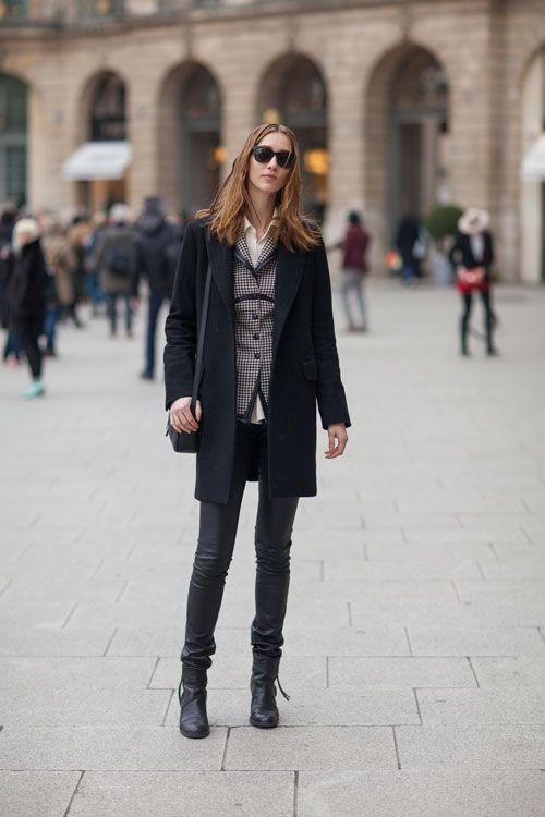 #Street Style Fall 2013: Paris Fashion Week  Street Fashion #fashion #street #nice   www.2dayslook.nl