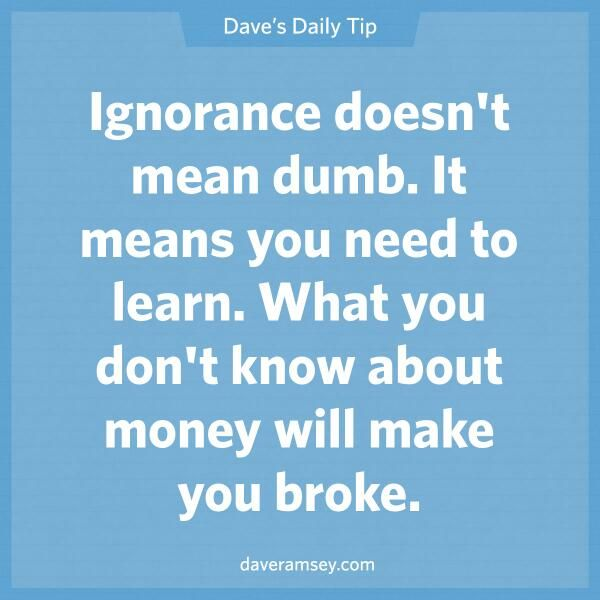 That's true, however, if you're a baker, butcher or hair dresser, you never learned how to manage money. The having part of money is easy, its the learning part that makes you nuts. See my book Money-Paper or plastic to see exactly how its done! www.thedebtlady.com