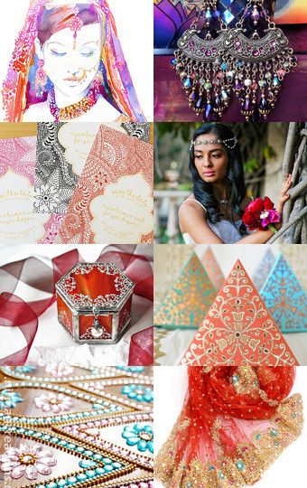 Indian wedding by Monika Schulcz on Etsy--Pinned with TreasuryPin.com