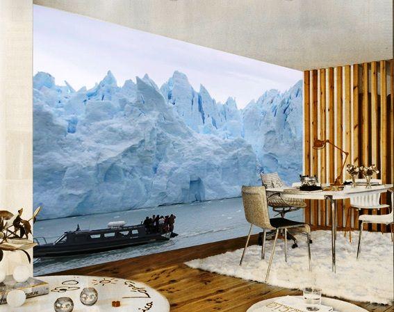 Decoracion de pared - RESIDENCIALMX, fotomural de un paiseje para el comedor