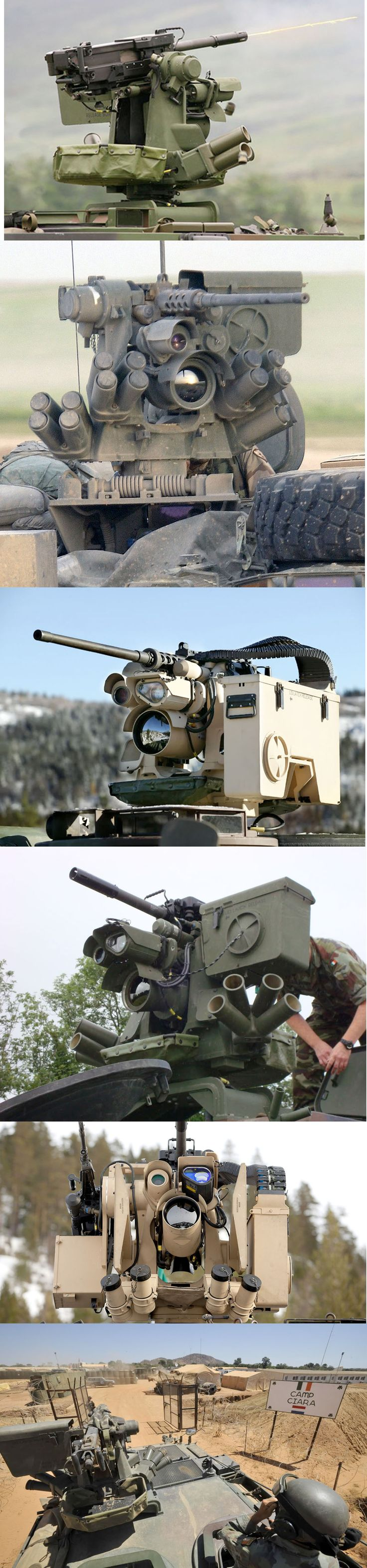 Protector (RWS)      The M151 PROTECTOR Remote Weapon Station is a remotely controlled weapons station (RWS) that can be mounted to vehicles and stationary platforms. It is manufactured by Kongsberg Defence & Aerospace[1] of Norway and Thales Group of France. [via]