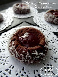 Petits puits au cacao et à la confiture | makla - La cuisine authentique