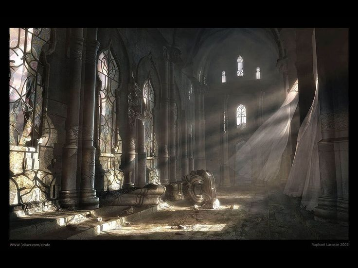 Gothic Castle Main Hall reminds me of what dreams may come
