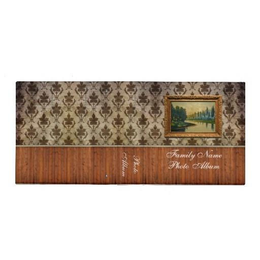 Grunge Wallpaper Photo Album - Binder
