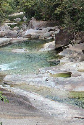 Babinda Boulders and the Devil's Pool Legend