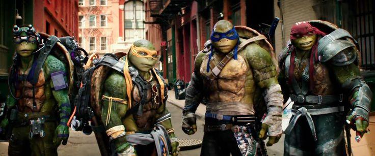 Mira el nuevo trailer de Las Tortugas Ninja 2: Fuera de las Sombras #TMNT2 #trailer #cine
