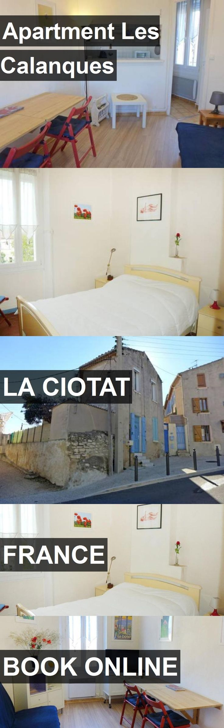 Apartment Les Calanques in La Ciotat, France. For more information, photos, reviews and best prices please follow the link. #France #LaCiotat #travel #vacation #apartment
