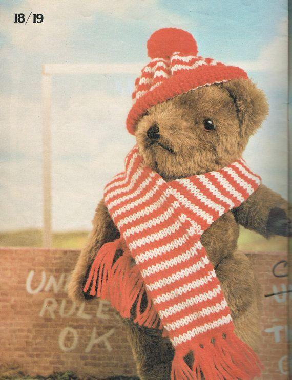 Paddington Bear Jumper Knitting Pattern 2228 T