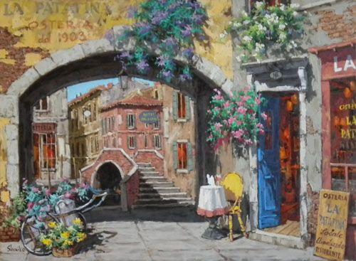 Archway By La Patatina Osteria Viktor Shvaiko