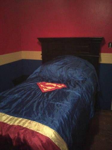 It's a bird, It's a plane... No its my sons new Superman Bedroom!!!! - HOME SWEET HOME