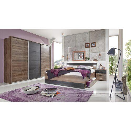 3-tlg. Schlafzimmer-Set Chester, 180 x 200 cm Wimex ...