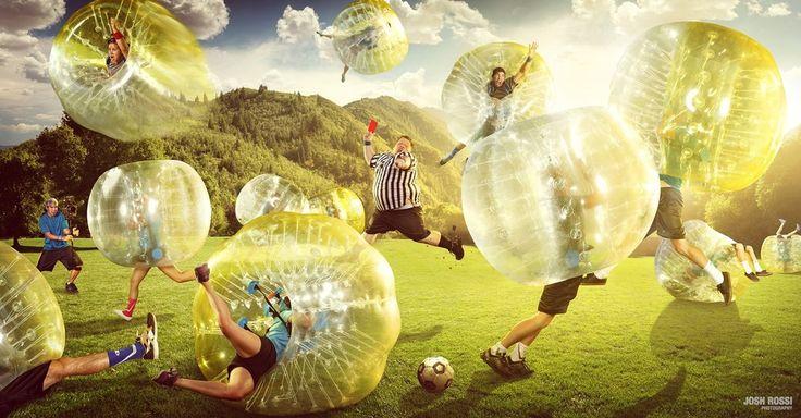 Zorb Soccer: najlepsza i najzabawniejsza gra zespołowa?