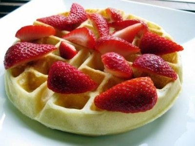 classic waffles | Breakfast | Pinterest