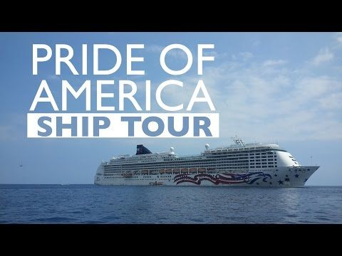 NEW: Pride of America Cruise Ship Tour - YouTube