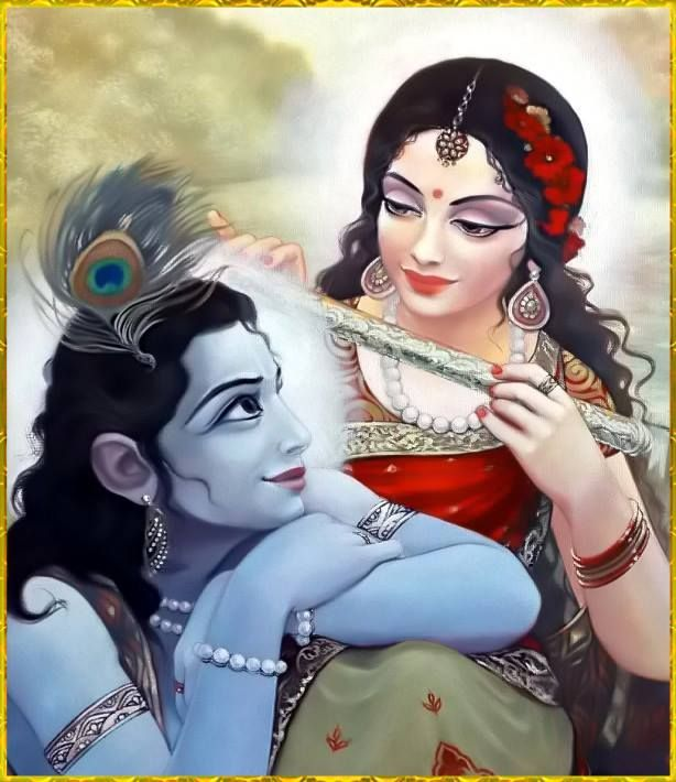 you are not with me but with someone with whom you are happy - your radha will always love you